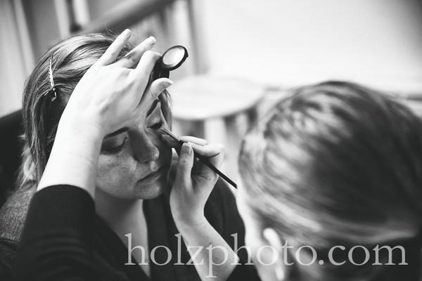 Brittany & Logan B/W Wedding Photos