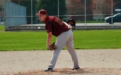 HS Sports - Ann Arbor Huron at Riverview Baseball 21