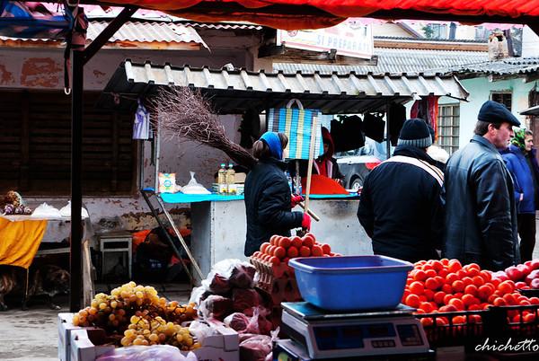 A day in the market Sighetu
