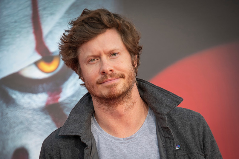 """WESTWOOD, CA - AUGUST 26: Anders Holm attends the Premiere Of Warner Bros. Pictures' """"It Chapter Two"""" at Regency Village Theatre on Monday, August 26, 2019 in Westwood, California. (Photo by Tom Sorensen/Moovieboy Pictures)"""