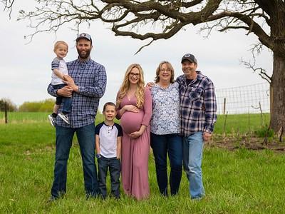 Kayla & Family April 2021