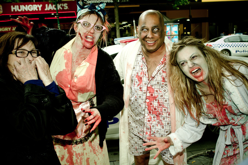 Zombies on Swanston Street