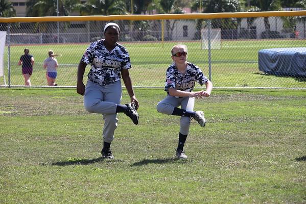 Softball Warm-ups 3/10/15