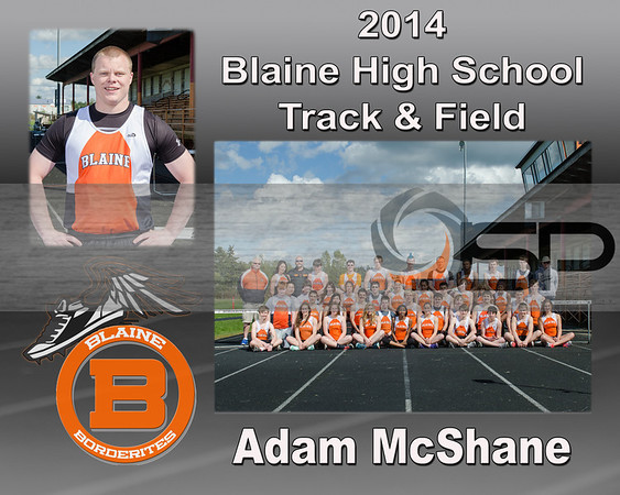 2014 Blaine High School Track - Team and individual