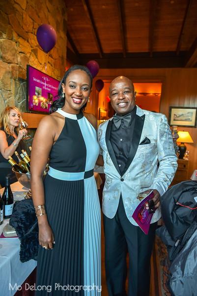 Jeanine Kaneza and Otis Bruce