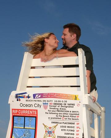 Colin & Sue Post Wedding Beach Portraits