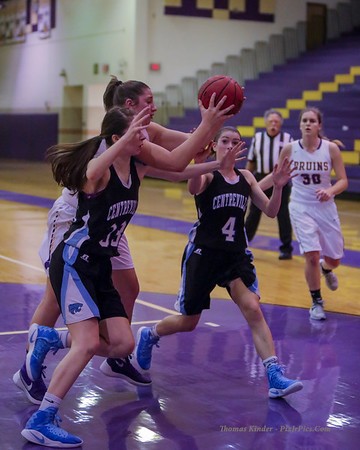 Girls Varsity Basketball v Centreville 11/29/16