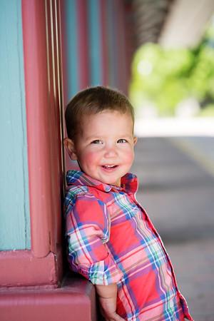 Wyatt {2 year old session}
