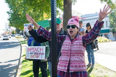 Impeach Rally in Ashland
