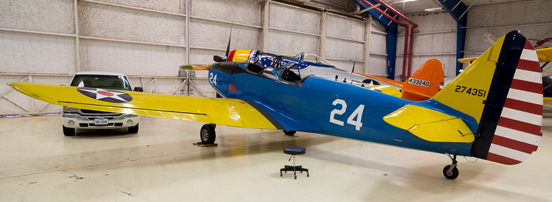 ... which was replaced by this Fairchild PT-19.  See: http://www.uh.edu/engines/epi2752.htm