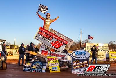 BAPS Motor Speedway - 11/16/19 - Dave Dellinger