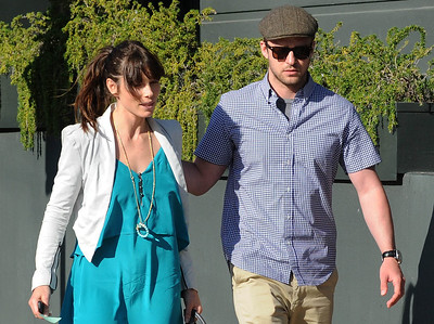 EXC: Jessica Biel Shows Off Engagement Ring With Justin Timberlake