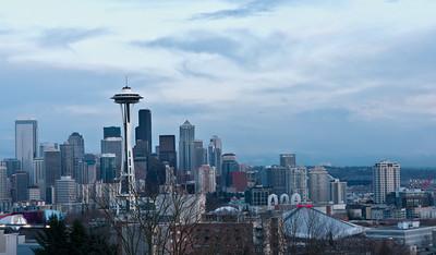 Kerry Park, Seattle, WA