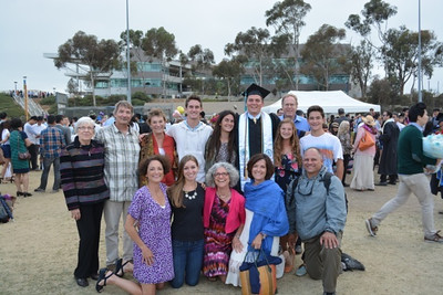 Peter's UCSD Graduation, June 2014