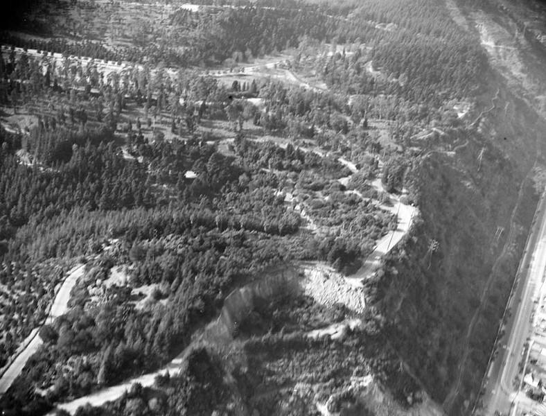 Landslide Aerial
