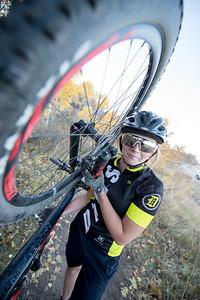 Trini Olds   Davis high mtn. bike team