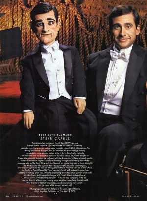 steve carell vanity fair magazine