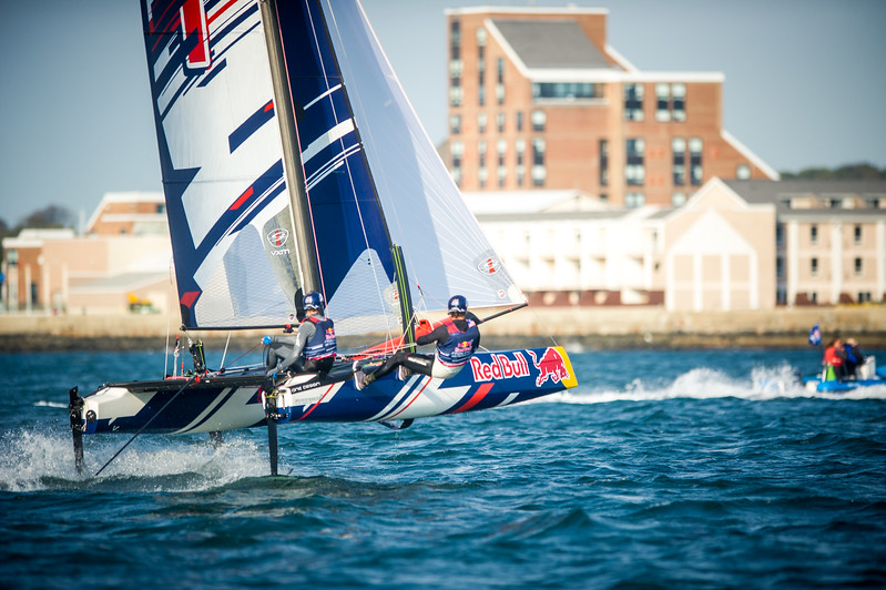 XXXX at Red Bull Foiling Generation in Newport, Rhode Island, USA on [DD MONTH YYYY].