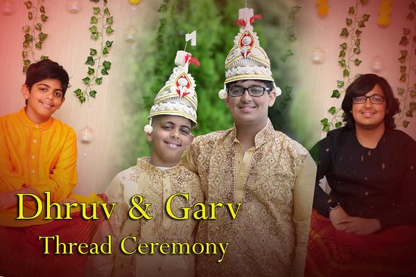Dhruv & Garv Thread Ceremony
