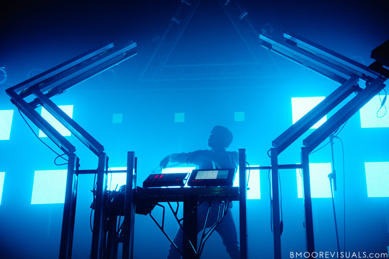 edIT of The Glitch Mob performs in support of Drink The Sea on July 13, 2011 at Czar in Tampa, Florida