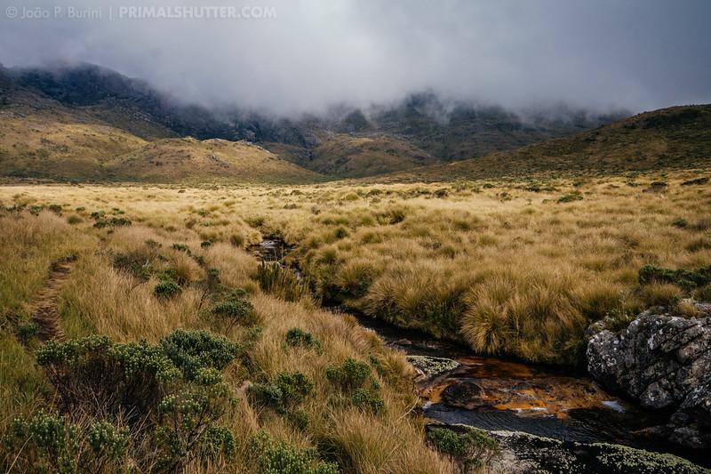 Higher Aiuruoca valley in Itatiaia National Park