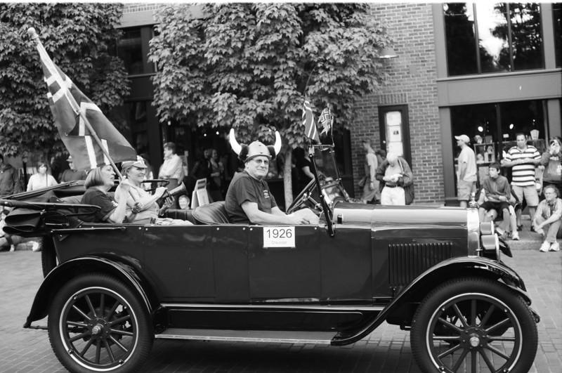 Syttende mai - Norwegian Constitution Day parade in Ballard, Seattle