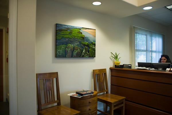 Aubrey's Work in Client's Spaces