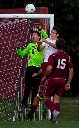 Bangor v. Edward Little boys soccer