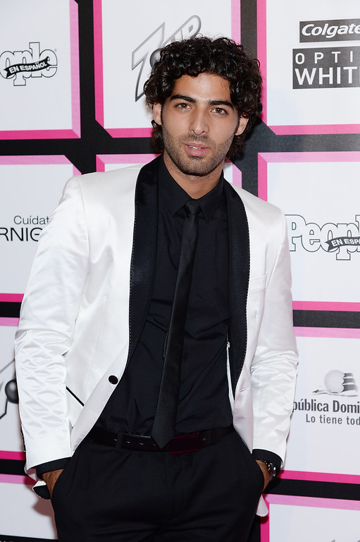 . Actor Jason Canela attends People En Espanol\'s 50 Most Beautiful 2013 at Marquee on May 13, 2013 in New York City.  (Photo by Dimitrios Kambouris/Getty Images for People en Espanol)