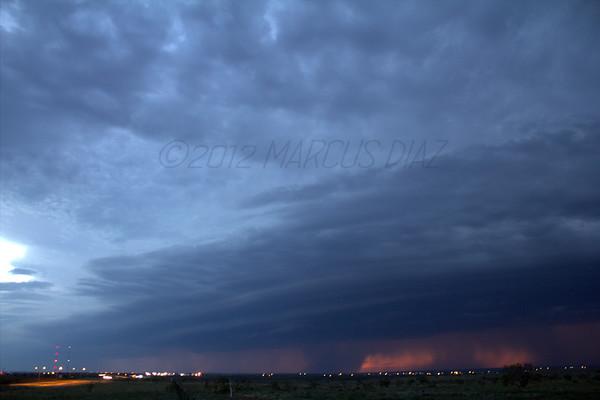 September 6, 2012 Amarillo, TX Storms
