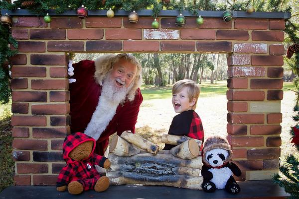 Santa Minis 2018: Santa and Rowan!