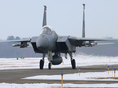 Massachusetts Air National Guard F-15 Eagles Gallery 3