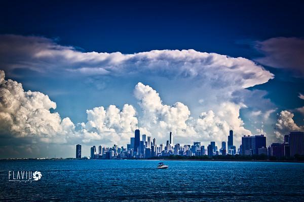 Atomic storms