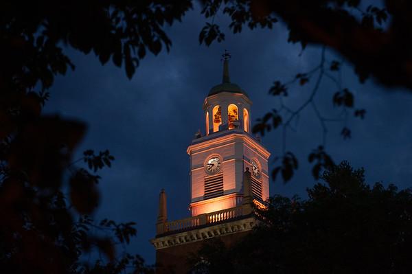 9/17/21 Landmarks Lit Orange for Buffalo State's 150th Anniversary