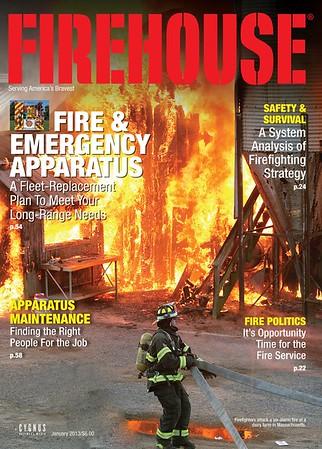 CFPA Members In Firehouse Magazine 2013