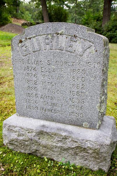 Elias Sidmore Gurley Gravestone
