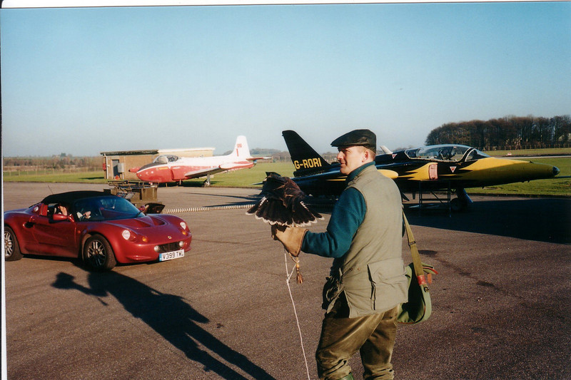 2001: Falconer & Lotus Elise Series 1, Track Day with Clive nr Bristol