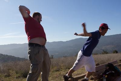 Hiking (Los Gatos Creek Trail) 01/09/12