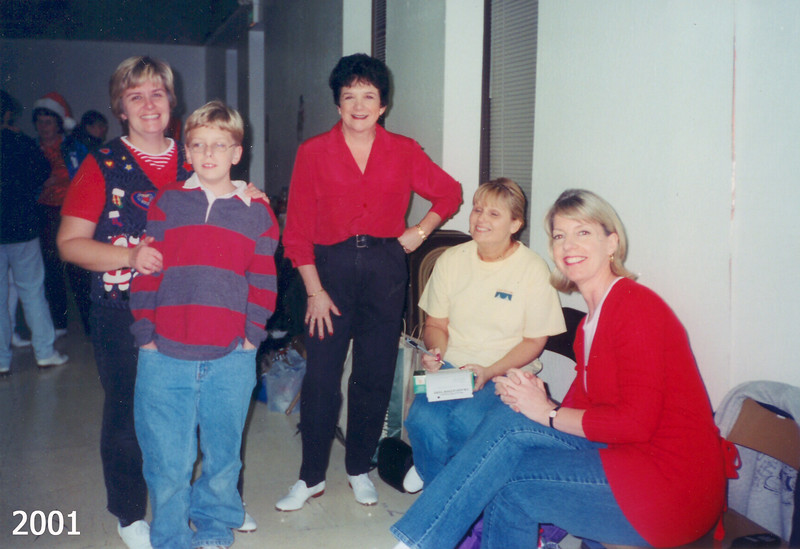 BHC Holiday Party 2001