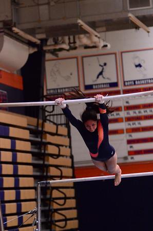 Oswego girls gymnastics Varsity 2012