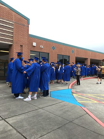 Seniors Walk The Halls