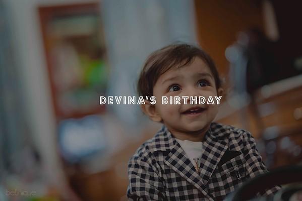 Devina 1st Birthday