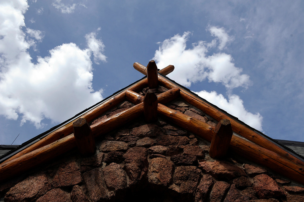 . PINE, CO - APRIL 18: The exterior of Baehrden Lodge on April 18, 2014, in Pine, Colorado. (Photo by Anya Semenoff/The Denver Post)
