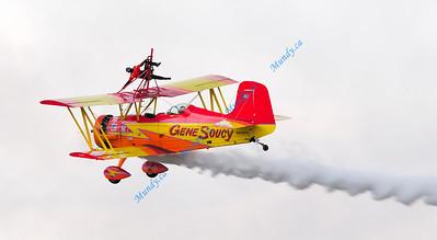 "Gene Soucy & ""Wing Walker"" Teresa Stokes"