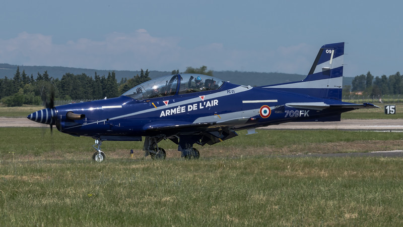 French Air Force EPAA / Pilatus PC-21 / 709-FK
