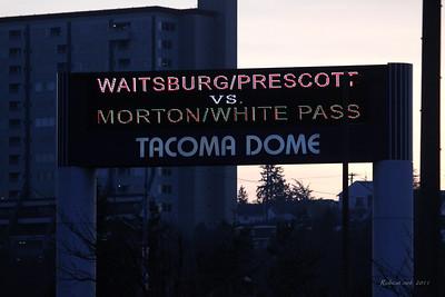 2011 Football (Tacoma Dome) - Morton/WhitePass vs Waitsburg/Prescott