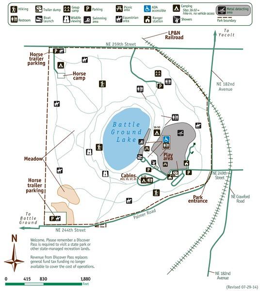 Battle Ground Lake State Park