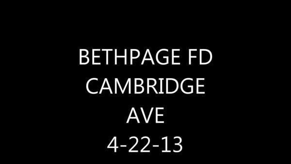 BETHPAGE FD CAMBRIDGE AVE VIDEO