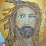 Particolare Gesu Ascende al Cielo