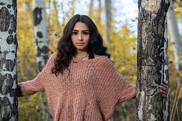 Danielle Lamorie Senior Portrait THS 2020